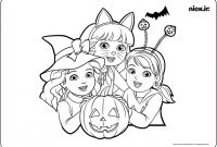 Dora and Friends Coloring Pages - Nick Jr Coloring Pages Free Coloring Printing Pages