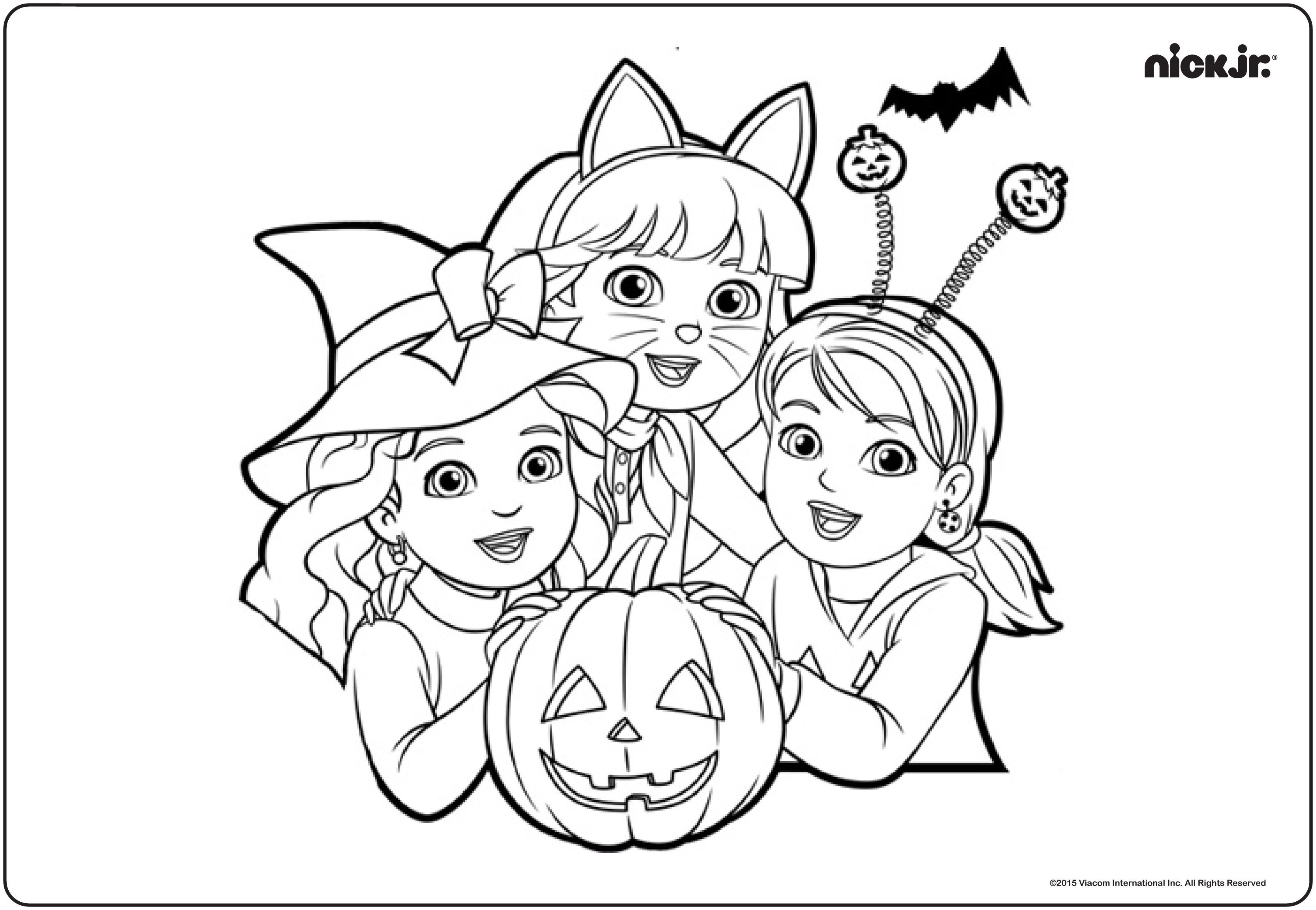 Dora and Friends Coloring Pages  Download 4h - Save it to your computer