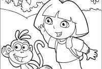 Dora and Friends Coloring Pages - Print & Download Dora Coloring Pages to Learn New Things