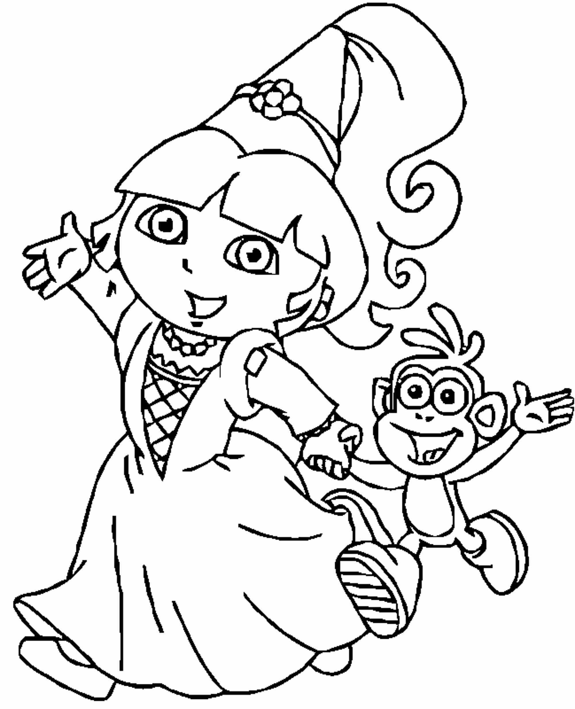Dora and Friends Coloring Pages  Download 13i - Save it to your computer
