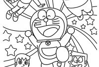 Dora and Friends Coloring Pages - Wall Sticker Doraemon Great Doraemon and Friends Coloring Pages for
