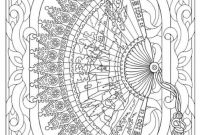 Dover Publications Coloring Pages - Creative Haven Vintage Hand Fans Coloring Book Dover Publications