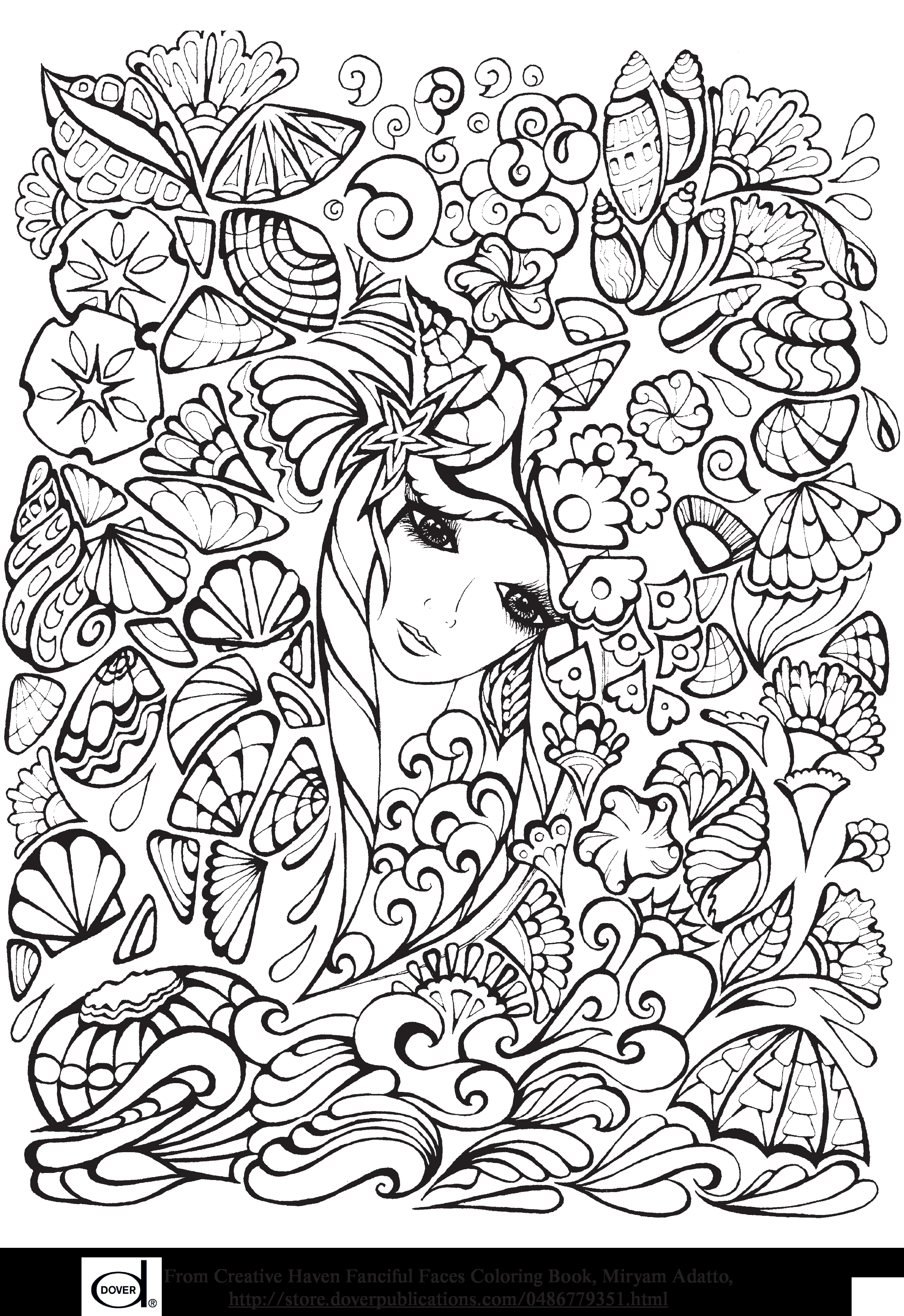 Dover Publications Coloring Pages  Download 12d - Save it to your computer