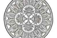 Dover Publications Coloring Pages - Mystical Mandala Coloring Book Coloring Pages