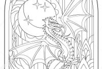 Dragon Coloring Book Pages - Pin by Elisabeth Quisenberry On Coloring Fantasy