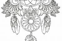 Dream Catcher Coloring Pages - 76 Best Dream Catchers Images On Pinterest