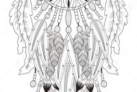 Dream Catcher Coloring Pages - Pin by Ccytz Latin On for Coloring Pinterest