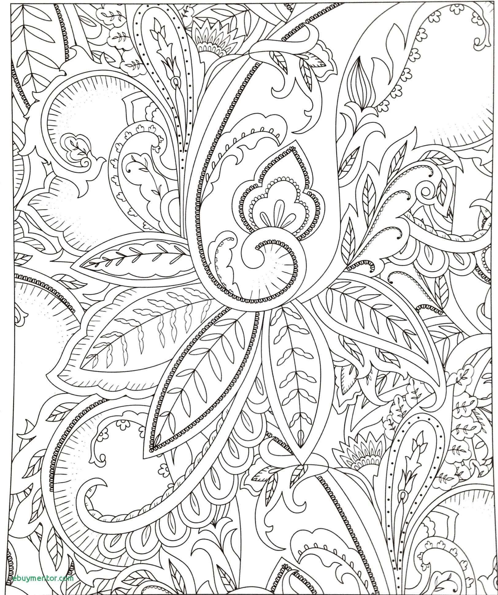 Easy Paisley Coloring Pages  to Print 15j - Free Download