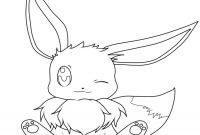 Eevee Coloring Pages to Print - Color Numbers