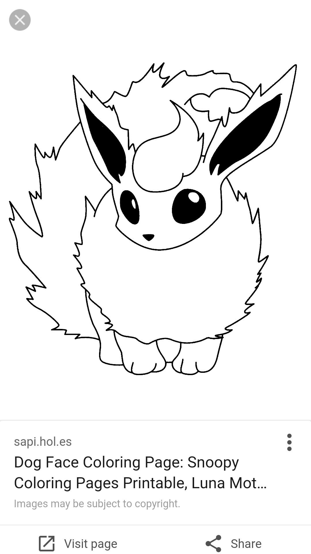 Eevee Coloring Pages to Print  Gallery 19d - Free Download