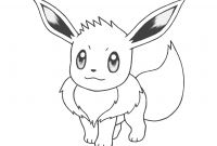 Eevee Coloring Pages to Print - Pokemon Eevee Coloring Pages Category Coloring Pages 84 Coloring