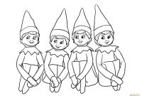 Elf Coloring Pages Printable - 28 Collection Of Boy Elf the Shelf Coloring Pages