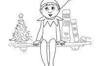 Elf Coloring Pages Printable - Elf Coloring Pages Printable