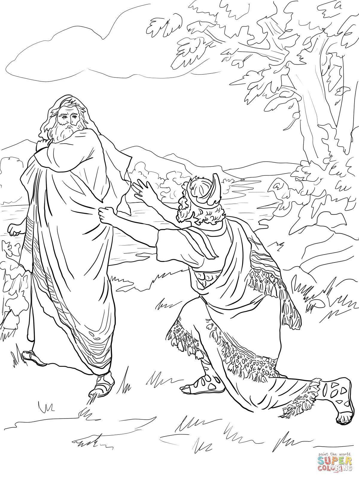 Elijah Coloring Pages  Printable 19j - Save it to your computer