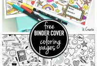 Engineering Coloring Pages - Binder Cover Coloring Pages U Create