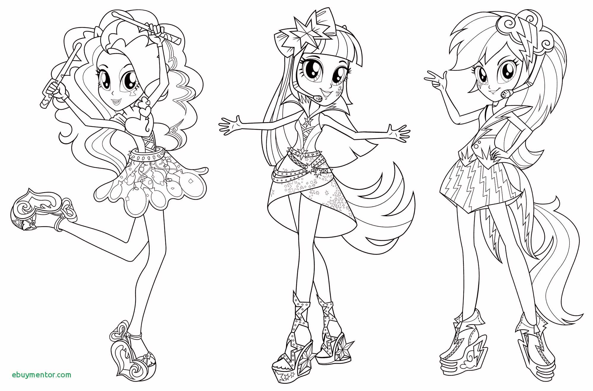 Equestria Girls Rainbow Rocks Coloring Pages  Collection 10i - Save it to your computer