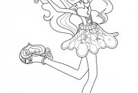 Equestria Girls Rainbow Rocks Coloring Pages - Figures Rainbow Dash Equestria Girl Coloring Page Printable 2018