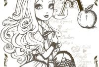 Ever after High Coloring Pages - Beautiful Princess Ever after High Printable Coloring Sheets