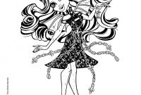 Ever after High Coloring Pages - Monster High Coloring Pages 72 Online toy Dolls Printables for Girls