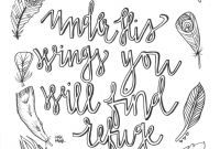 Faith Coloring Pages - Pin by Laura Signorelli On Bible Notebook Refuge Wings