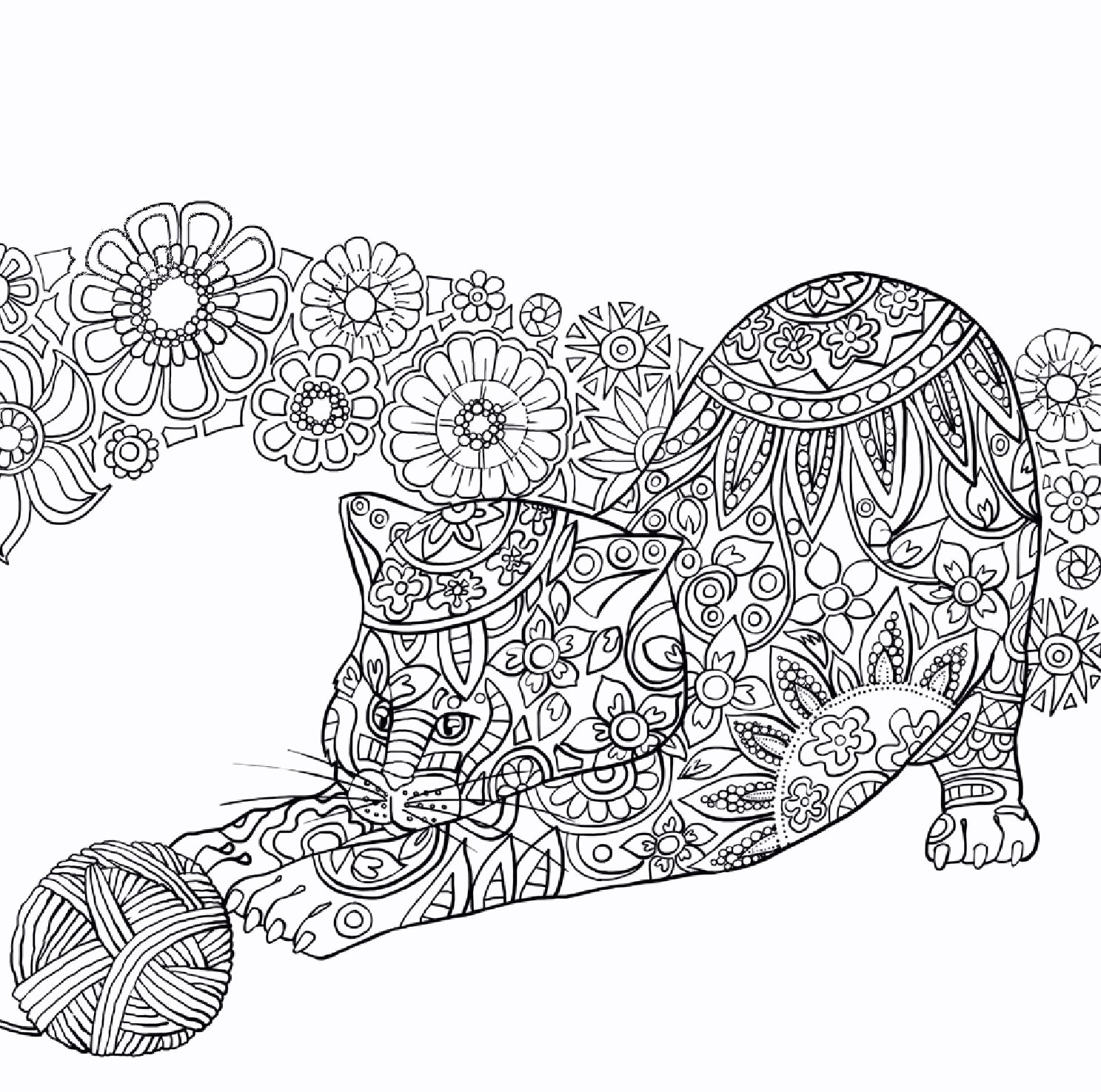 Feathers Coloring Pages  Printable 1l - Free Download