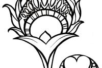 Feathers Coloring Pages - Peacock Feather Coloring Page Awesome Printable Fresh S S Media