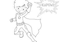 Female Superhero Coloring Pages - Free Superhero Coloring Pages Printable