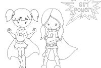 Female Superhero Coloring Pages - Superhero Coloring Pages for Preschoolers Coloring Pages