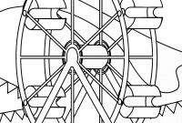 Ferris Wheel Coloring Pages - Ferris Wheel Coloring Pages Free Download