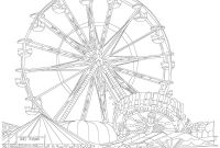 Ferris Wheel Coloring Pages - Ferris Wheel Coloring Pages Mikalhameed