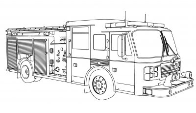 Fire Department Coloring Pages - Fire Department Coloring Pages Fire Safety Coloring Pages Stylish