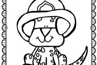Fire Department Coloring Pages - Halloween Safety Coloring Pages Free