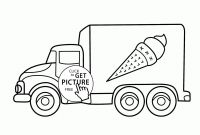Fire Truck Coloring Pages Pdf - 12 Beautiful Truck Coloring Pages for Preschoolers