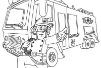 Fire Truck Coloring Pages Pdf - Cool Fireman Sam More On Bestbratzcoloringpages