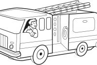 Fire Truck Coloring Pages Pdf - Fire Truck Coloring Pages Pdf