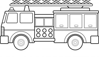 Fire Truck Coloring Pages Pdf - Fire Truck Coloring Pages Sample thephotosync