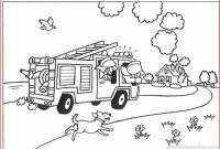 Firefighter Coloring Pages for Preschoolers - Fire Truck Coloring Pages 131 Printable Coloring Pages Fire Truck