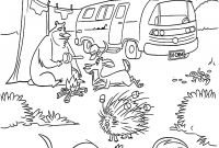 Firefighter Coloring Pages for Preschoolers - Firefighter Coloring Pages