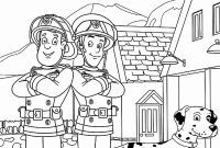Firefighter Coloring Pages for Preschoolers - Fireman Hat Coloring Pages Stylish Firefighter Coloring Page
