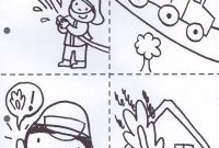 Firefighter Coloring Pages for Preschoolers - Pin by الشبح1 الشبح1 On Education Pinterest