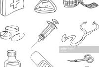 First Aid Coloring Pages - 28 Collection Of First Aid Box Clipart Black and White