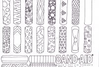 First Aid Coloring Pages - Coloring Page Band Aid Invented Coloring Page for First Aid Badge