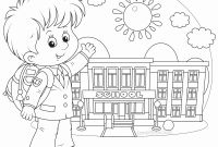 First Day Of Preschool Coloring Pages - School Coloring Pages for Kindergarten Coloring Pages Coloring Pages