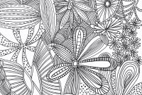 Flower Garden Coloring Pages - Colour Pages