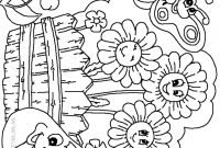 Flower Garden Coloring Pages - Gr£os Coloring Pages