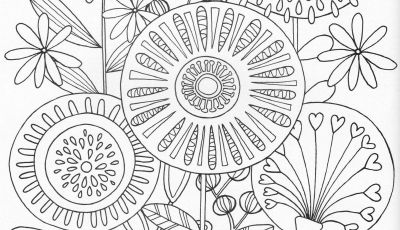 Flower Garden Coloring Pages - Scandinavian Coloring Book Pg 31 Mandala Pinterest