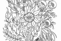 Flower Garden Coloring Pages - Unique A Flower Garden