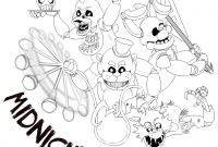 Fnaf Coloring Pages - Fnaf Mangle Coloring Pages Lovely Fnaf Coloring Sheets Verikira