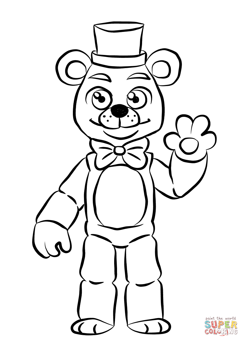 Fnaf Coloring Pages Online  to Print 9c - Save it to your computer