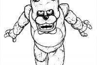 Fnaf Coloring Pages Online - Que Freddy Fazbear Coloring Page Preschool S Funny
